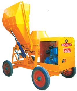 Fully Hydraulic Concrete Mixer (One Bag)